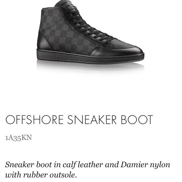 louis vuitton offshore sneaker boot